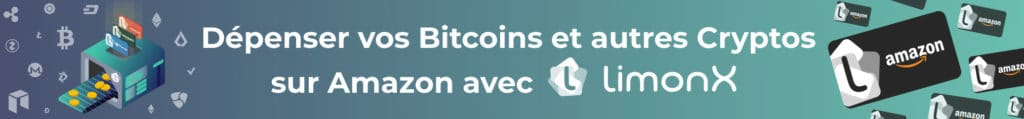 Partir de Payer en Bitcoin sur Amazon grâce à LimonX