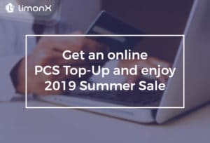 Get An Online PCS Top-Up And Enjoy 2019 Summer Sale